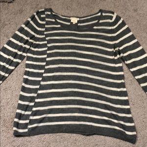Grey Stripe sweater - Leroy & Perry